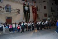 Il Corteo Storico di S. Rita - gli stendardieri - foto di Nicolò Pecoraro - 19 maggio 2012  - Castellammare del golfo (384 clic)