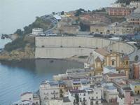 panorama dal Belvedere - Chiesa Madre e Cala Petrolo - 1 giugno 2012  - Castellammare del golfo (375 clic)