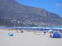 Spiaggia Plaja e mare molto mosso - 27 agosto 2012  - Castellammare del golfo (232 clic)