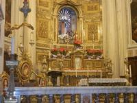 Chiesa del SS. Crocifisso - interno - 22 aprile 2012  - Calatafimi segesta (561 clic)