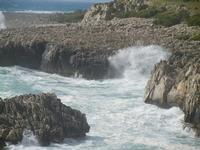 mare in tempesta all'Isulidda - 8 aprile 2012  - Macari (500 clic)