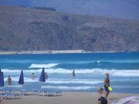 Spiaggia Plaja e mare molto mosso - 27 agosto 2012  - Castellammare del golfo (207 clic)