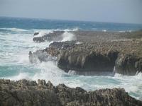 mare in tempesta all'Isulidda - 8 aprile 2012  - Macari (434 clic)