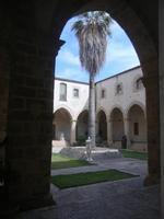 Chiostro - Chiesa S. Francesco d'Assisi - 6 settembre 2012  - Sciacca (1029 clic)