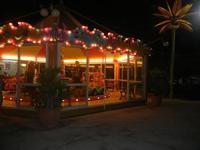 Spiaggia Plaja - le giostre - 15 luglio 2012  - Castellammare del golfo (894 clic)