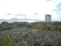 Riserva Naturale Orientata Capo Rama - torre di avvistamento - 15 aprile 2012  - Terrasini (577 clic)