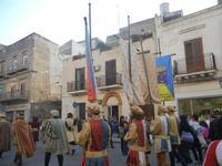 Corteo Rievocazione Storica dell'investitura a 1° Principe della Città di Carlo d'Aragona e Tagliavia - 26 maggio 2012  - Castelvetrano (504 clic)