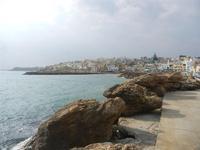 la città vista dal porto - 25 marzo 2012  - Marinella di selinunte (591 clic)