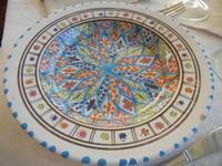 la casa del cous cous sanvitese piatto decorato - 18 agosto 2012  - San vito lo capo (392 clic)