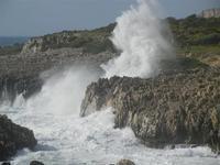 mare in tempesta all'Isulidda - 8 aprile 2012  - Macari (796 clic)
