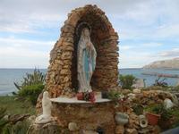 la Madonna di Lourdes al Belvedere - 15 aprile 2012  - Trappeto (1506 clic)