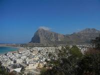 panorama dalla collina - città e monte Monaco - 18 agosto 2012  - San vito lo capo (833 clic)