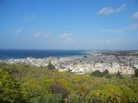 panorama dalla collina ad ovest della città - 8 aprile 2012  - San vito lo capo (690 clic)