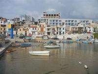 il porto invaso dalla sabbia e case - 25 marzo 2012  - Marinella di selinunte (706 clic)
