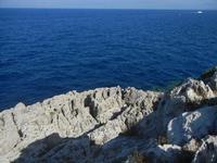 Golfo di Castellammare - rocce e mare - 18 agosto 2012  - San vito lo capo (984 clic)
