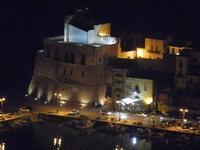 panorama notturno Castello a Mare - 31 marzo 2012  - Castellammare del golfo (428 clic)
