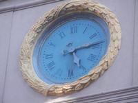 l'orologio del Palazzo VII Aprile 1860 - centro storico - 9 settembre 2012  - Marsala (440 clic)