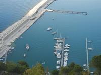 panorama dal Belvedere - porto - 1 giugno 2012  - Castellammare del golfo (318 clic)