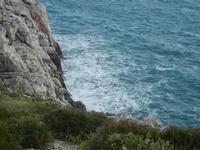 falesia e mare - R.N.O. Capo Rama - 15 aprile 2012  - Terrasini (1617 clic)