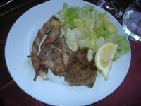 arrosto misto con insalata verde - Baglio Arcudaci - 9 aprile 2012  - Bruca (1650 clic)