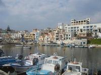 la città vista dal porto - 25 marzo 2012  - Marinella di selinunte (621 clic)