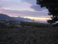 creuscolo rosa dalla periferia della città - 15 aprile 2012  - Alcamo (421 clic)