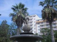 fontana con putto - 6 settembre 2012  - Sciacca (363 clic)