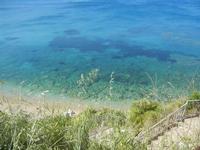 Baia di Guidaloca - mare calmo e trasparente - 6 maggio 2012  - Castellammare del golfo (291 clic)