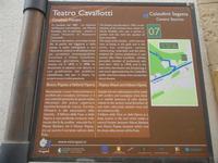 Teatro Cavallotti - cartello turistico - 22 aprile 2012  - Calatafimi segesta (382 clic)