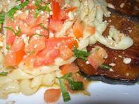 busiate con pesto alla trapanese - particolare - Busith - 4 marzo 2012  - Buseto palizzolo (967 clic)