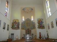SPERONE - Parrocchia di San Giuseppe - interno - 29 aprile 2012  - Custonaci (800 clic)