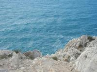 falesia e mare - R.N.O. Capo Rama - 15 aprile 2012  - Terrasini (965 clic)
