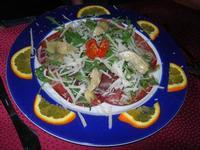antipasto con bresaola - antipasto con bresaola - La Badia - 28 luglio 2012  - Alcamo (631 clic)