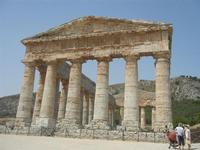 il tempio - 5 agosto 2012  - Segesta (887 clic)