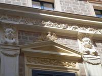 Palazzo S. Giacomo Tagliavia - particolari architettonici - 6 settembre 2012  - Sciacca (394 clic)