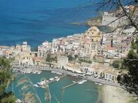 panorama scorcio città e Chiesa Madre - 6 maggio 2012  - Castellammare del golfo (410 clic)
