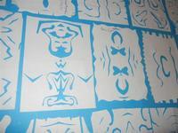 carta intagliata e ritagliata - I. C. Pascli - 18 gennaio 2012   - Castellammare del golfo (537 clic)