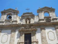 particolare della facciata - Chiesa dei SS. Paolo e Bartolomeo in Corso 6 Aprile - 2 giugno 2012  - Alcamo (269 clic)