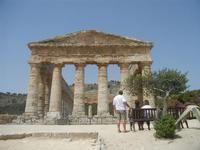 il tempio - 5 agosto 2012  - Segesta (1230 clic)