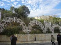 luminarie per la Festa del SS. Crocifisso - 22 aprile 2012  - Calatafimi segesta (457 clic)