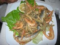 frittura mista di pesce - Busith - 8 agosto 2012  - Buseto palizzolo (535 clic)