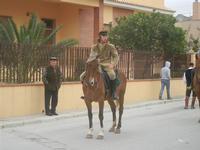 SPERONE - sfilata di cavalli - festa San Giuseppe Lavoratore - 29 aprile 2012  - Custonaci (443 clic)