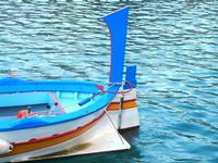 al porto - particolare di una barca - 14 aprile 2012  - Castellammare del golfo (1033 clic)