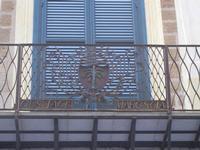 Palazzo S. Giacomo Tagliavia - particolari architettonici - 6 settembre 2012  - Sciacca (324 clic)