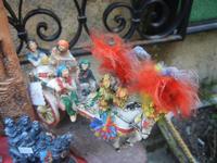 souvenir  carrettino siciliano in ceramica - 25 aprile 2012  - Erice (356 clic)