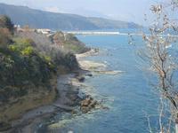 un tratto di costa dalla periferia est della città - 26 marzo 2012  - Castellammare del golfo (770 clic)