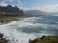 Golfo del Cofano e mare in tempesta - 8 aprile 2012  - Macari (722 clic)
