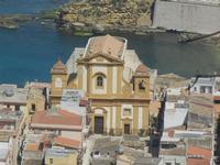 Chiesa Madre e Cala Petrolo - 6 maggio 2012  - Castellammare del golfo (1779 clic)