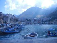 porto e città - 7 settembre 2012  - Castellammare del golfo (333 clic)