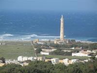 faro - panorama dalla collina ad ovest della città - 8 aprile 2012  - San vito lo capo (485 clic)